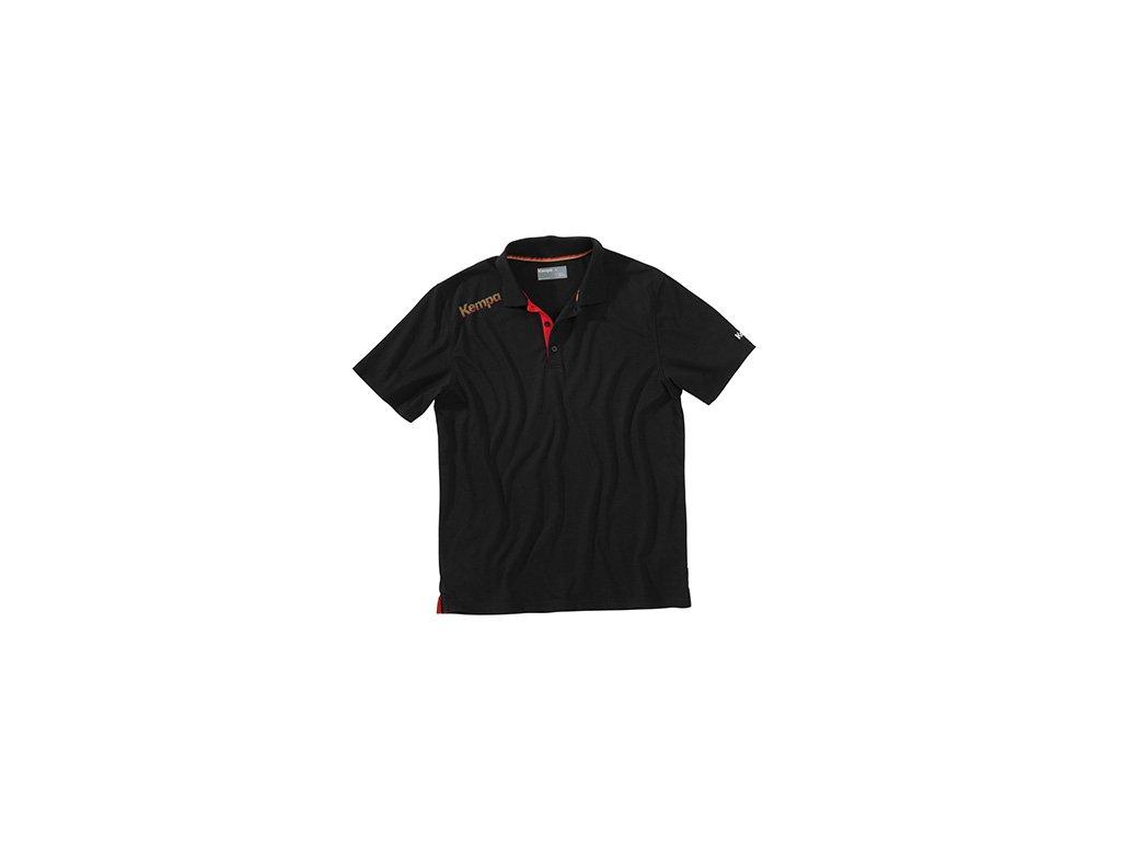 Kempa tričko Polo CORE - DHB - černé