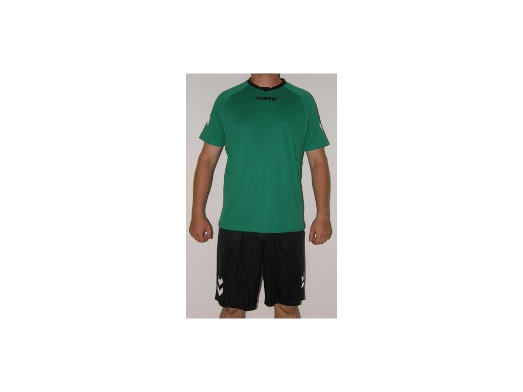 Hummel tréninkový set TEAM - zelená /černá