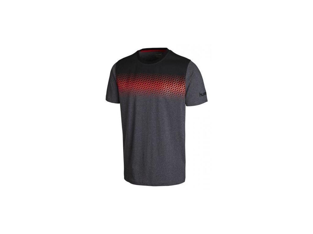 Hummel tričko REBEL GRADIENT - šedé