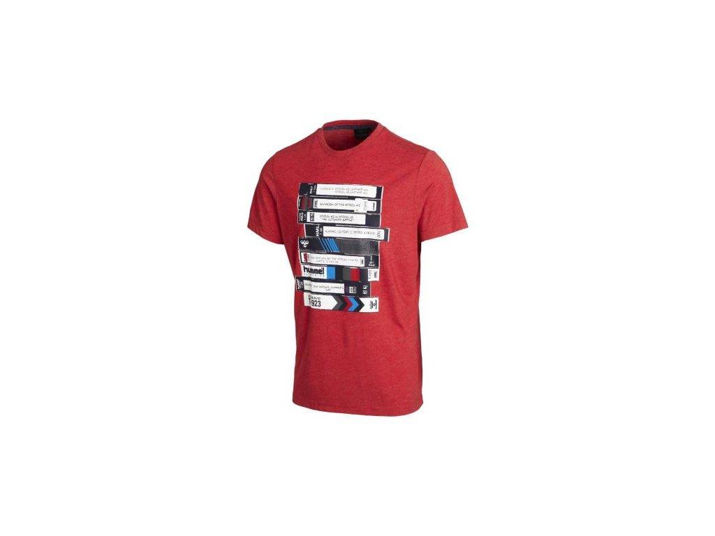 Hummel tričko CESC - červené