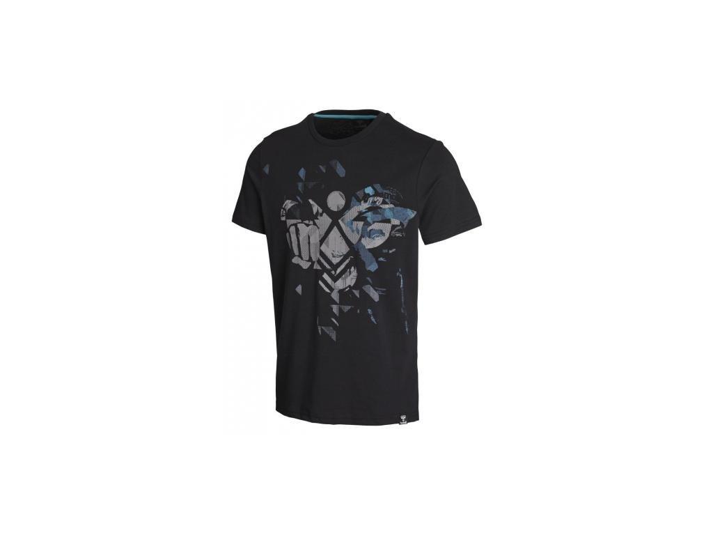 Hummel tričko HAIG - černé