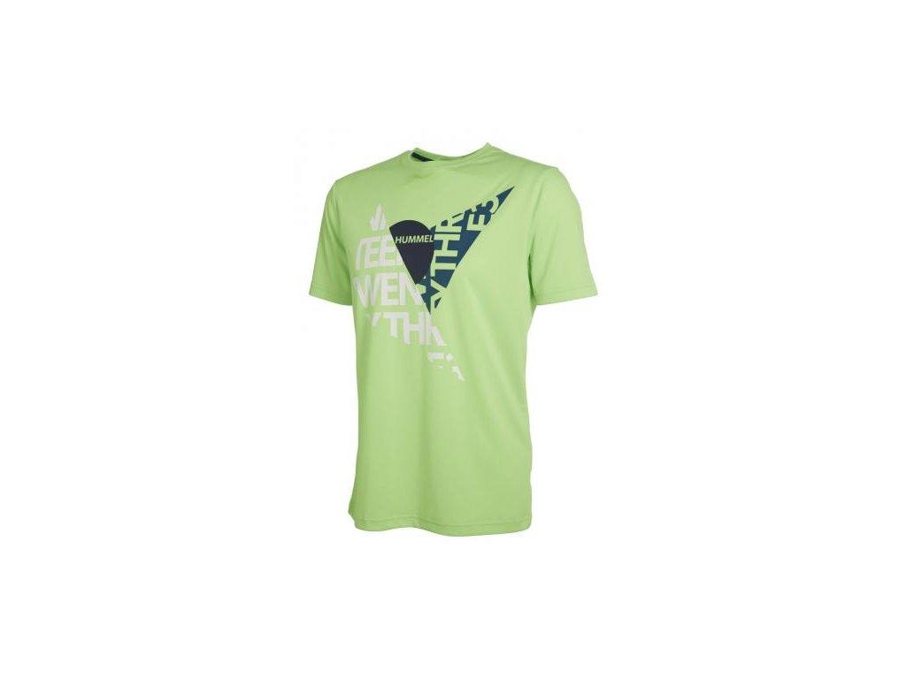 Hummel tričko DURHAM - zelené