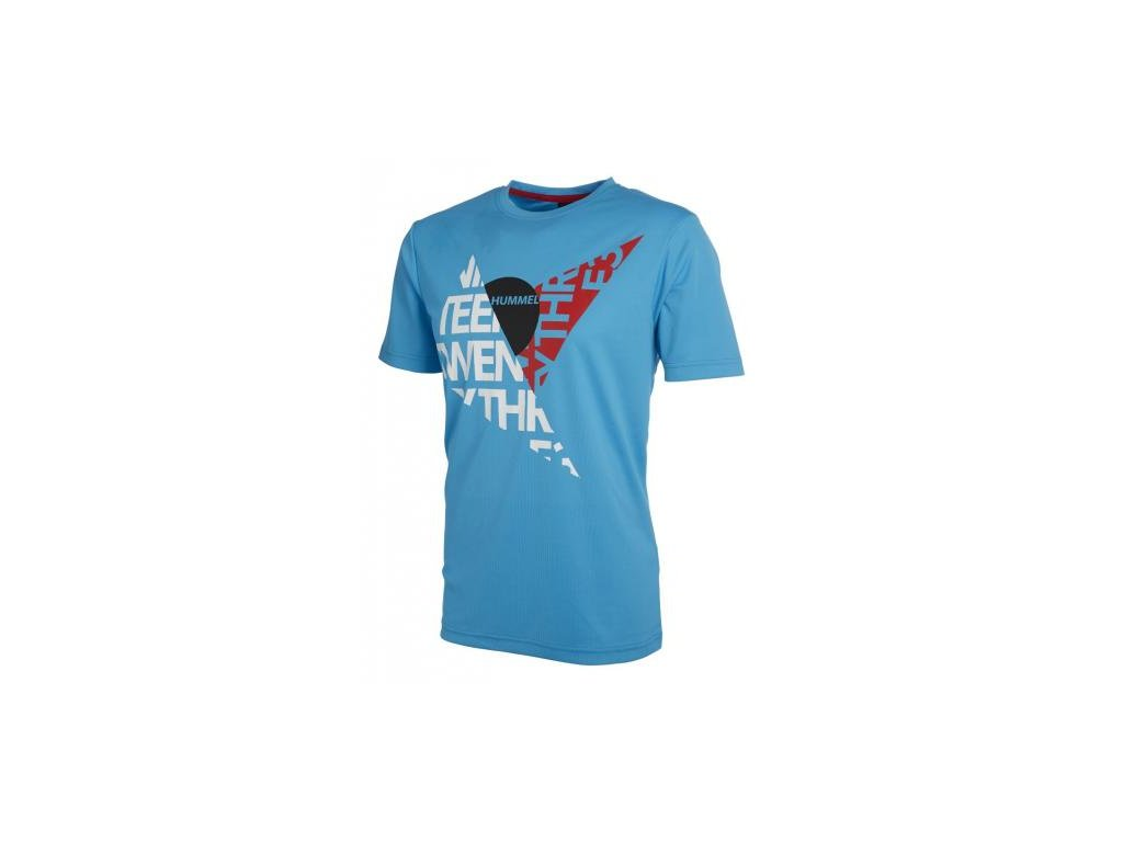 Hummel tričko DURHAM - modré