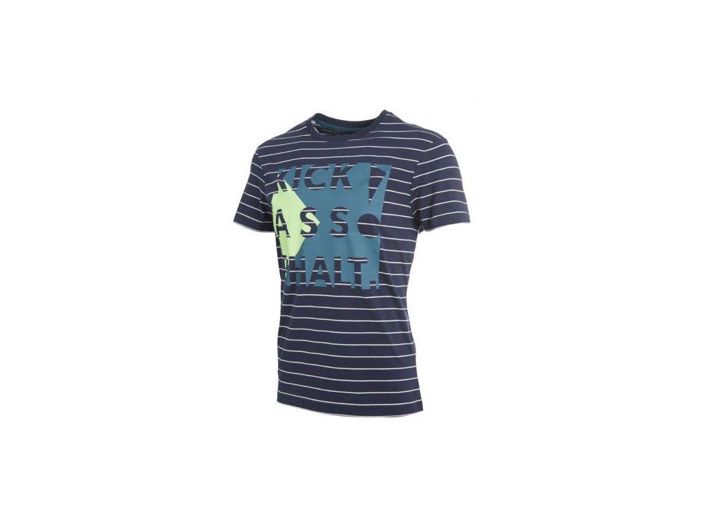 Hummel tričko LODGE - modré