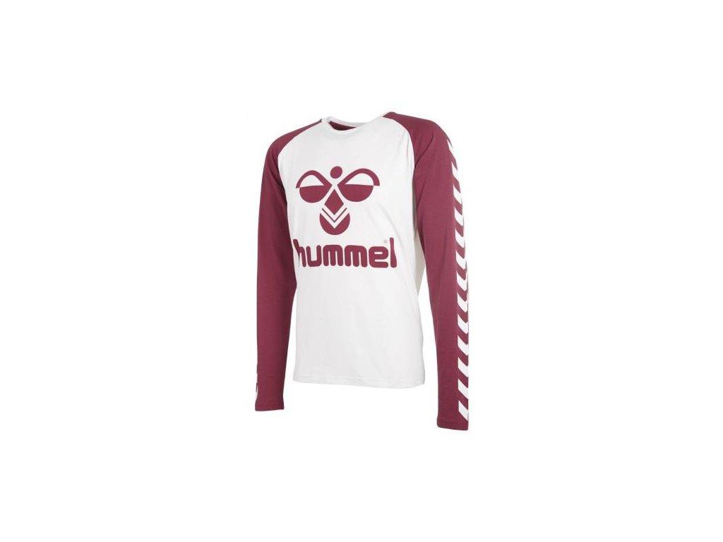 Hummel tričko COURT - bílé