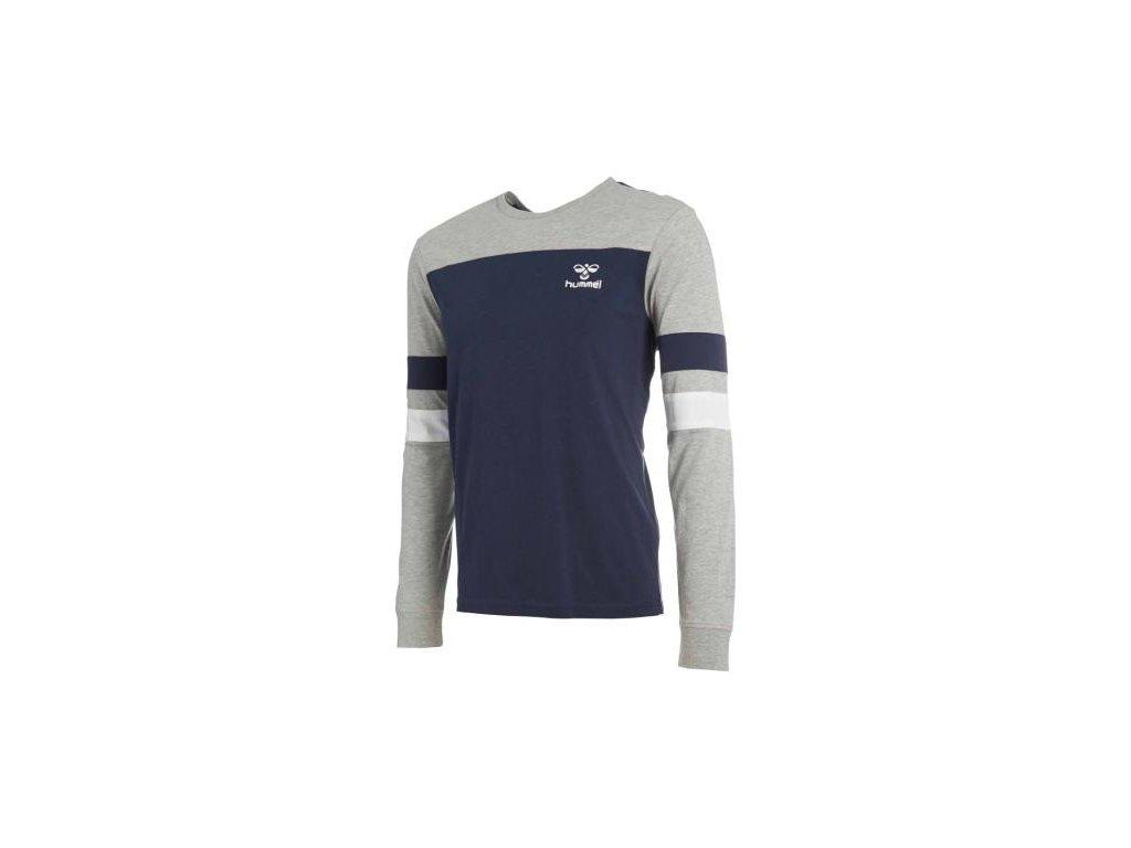 Hummel tričko BURTON - modré