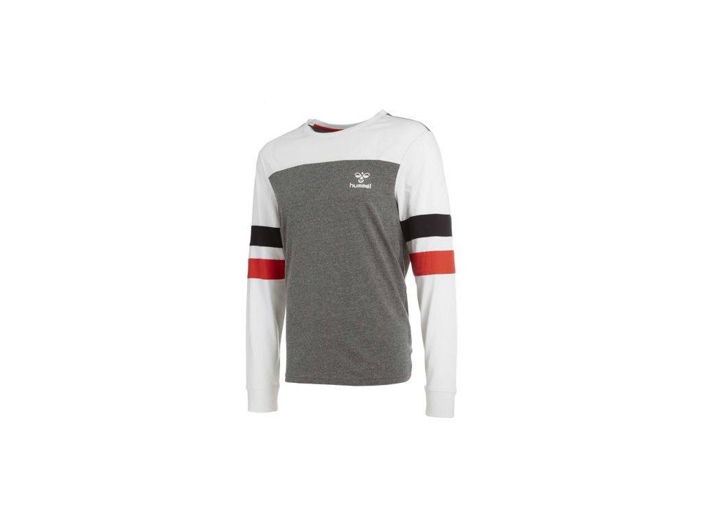 Hummel tričko BURTON - šedé