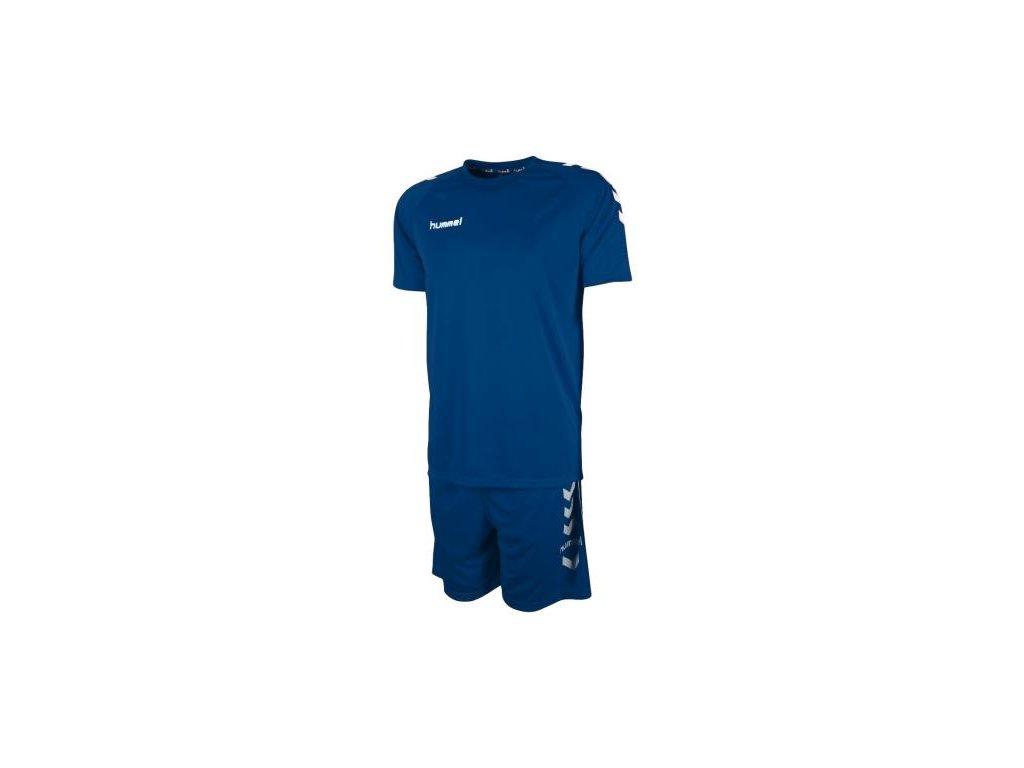 Hummel tréninkový set ESSENTIAL - modrá