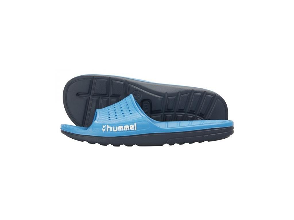 Hummel pantofle - SPORT SANDAL - modrá