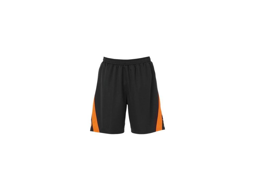 Kempa trenýrky Motion - tmavě šedá/oranžová