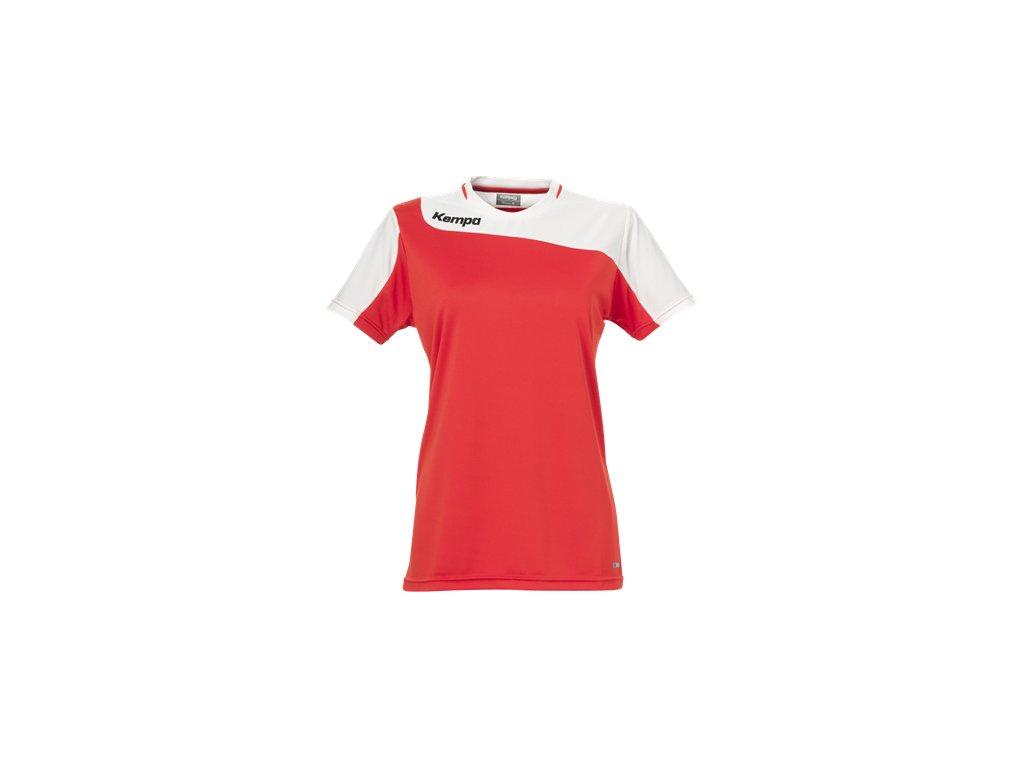 Kempa dámský dres Tribute - červená/bílá