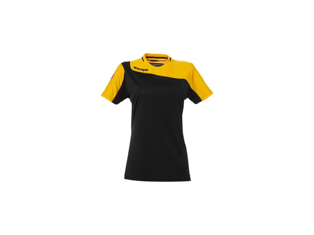 Kempa dámský dres Tribute - černá/oranžová