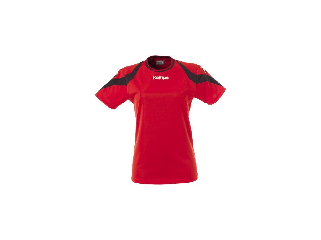 Kempa dámský dres Motion - červená/černá