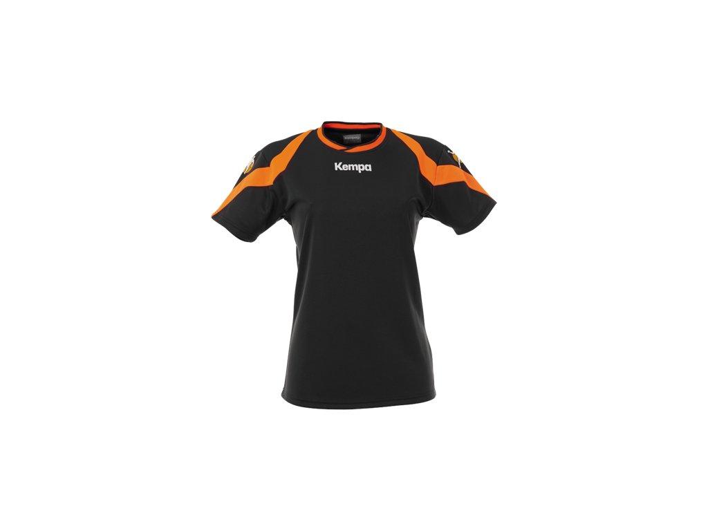 Kempa dámský dres Motion - černá/oranžová