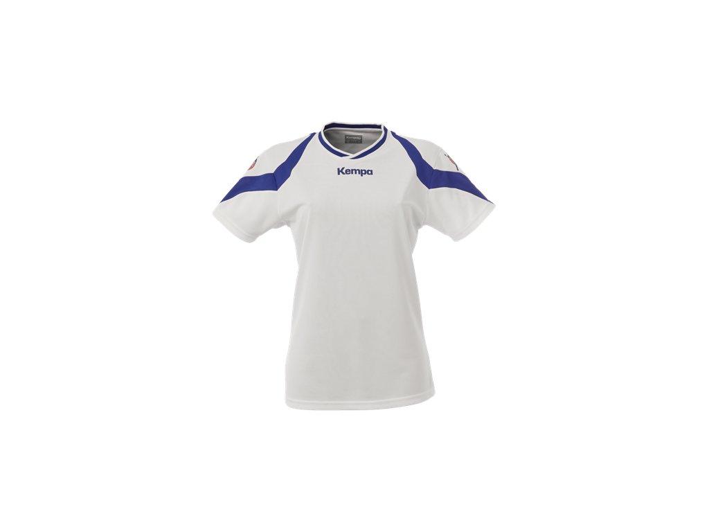 Kempa dámský dres Motion - bílá/modrá