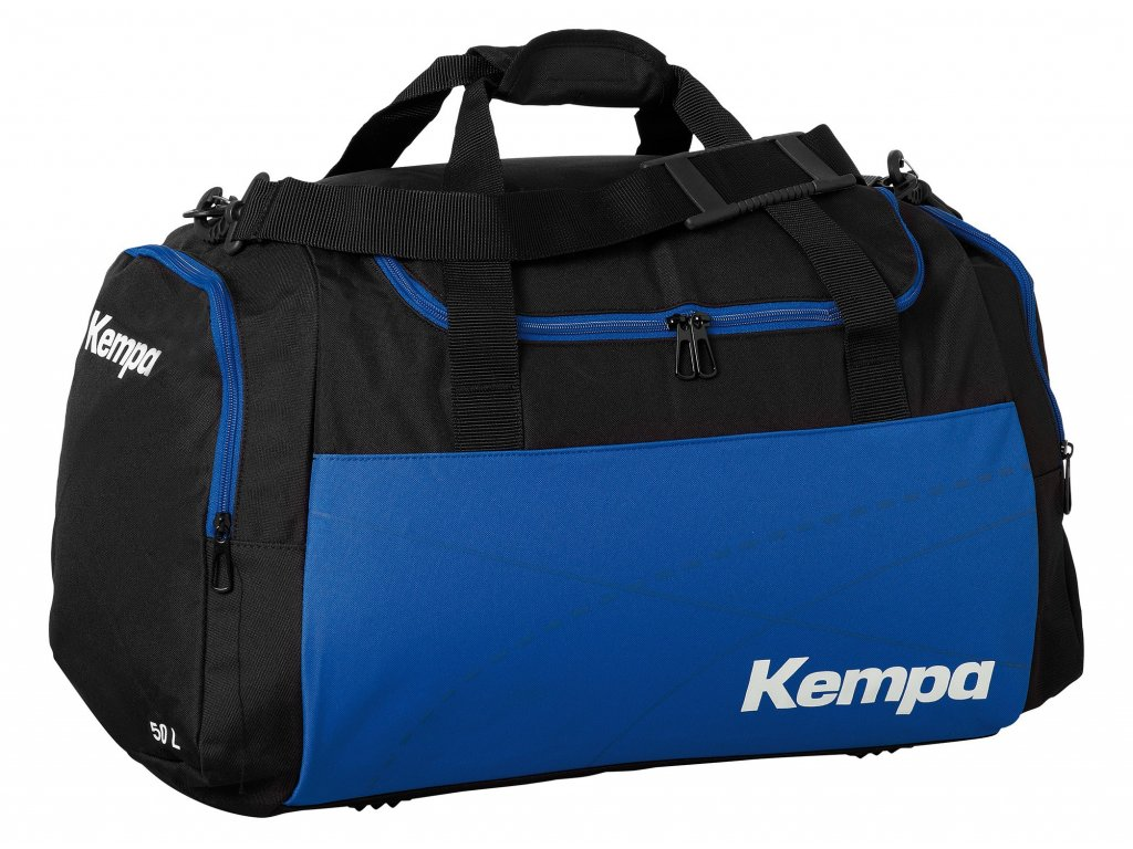 Kempa sportovní taška TEAMLINE - L  černá - modrá