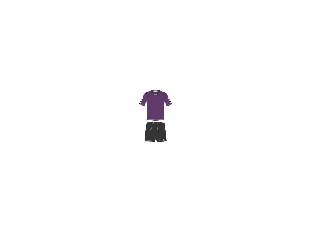 Hummel Authentic tréninková souprava - fialová/černá
