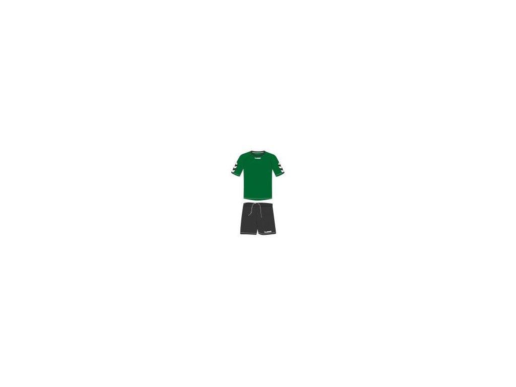 Hummel Authentic tréninková souprava - zelená/černá