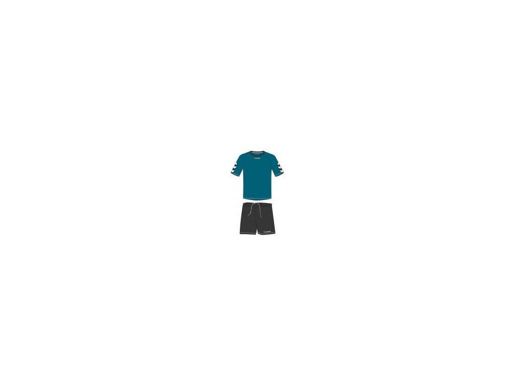 Hummel Authentic tréninková souprava - oriental modrá/nine iron