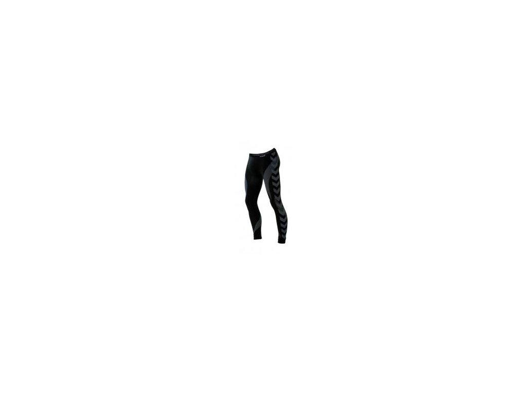 Hummel Base Layer spodky - černá/tmavě šedá