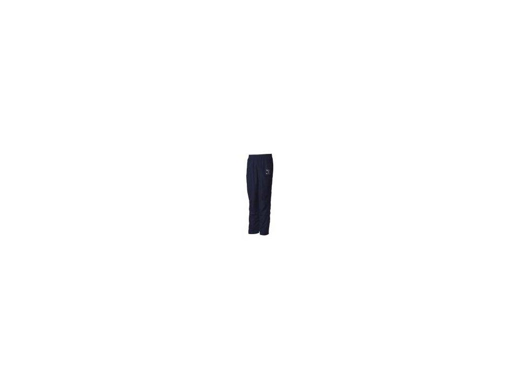 Hummel Classic Bee pánské kalhoty z mikrovlákna - tmavě modrá/stříbrná