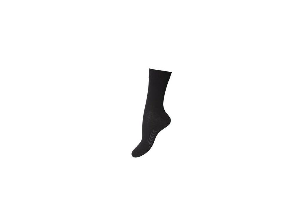 Hummel Business tři páry ponožek - černé