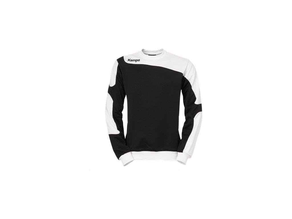 Kempa mikina Tribute - černá/bílá