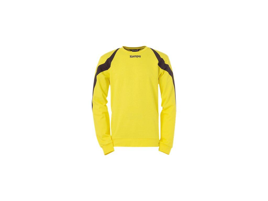 Kempa mikina Motion - žlutá/černá