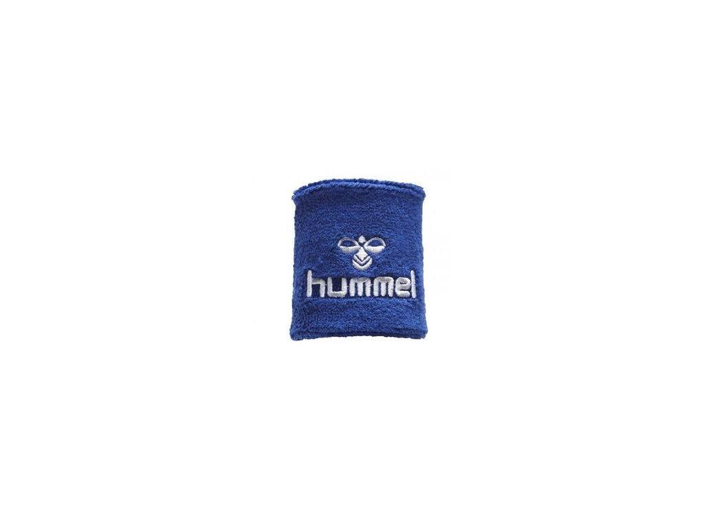 Hummel potítko Old School malé - modrá/bílá