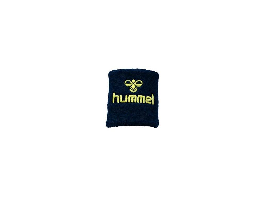 Hummel potítko Old School malé - tmavě modrá/žlutá