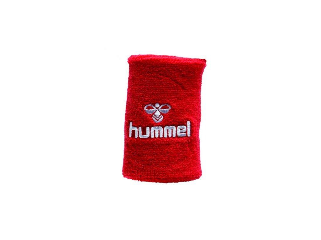 Hummel potítko Old School velké - červená/bílá
