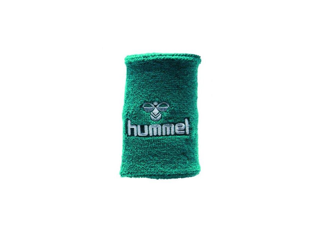 Hummel potítko Old School velké - zelená/bílá