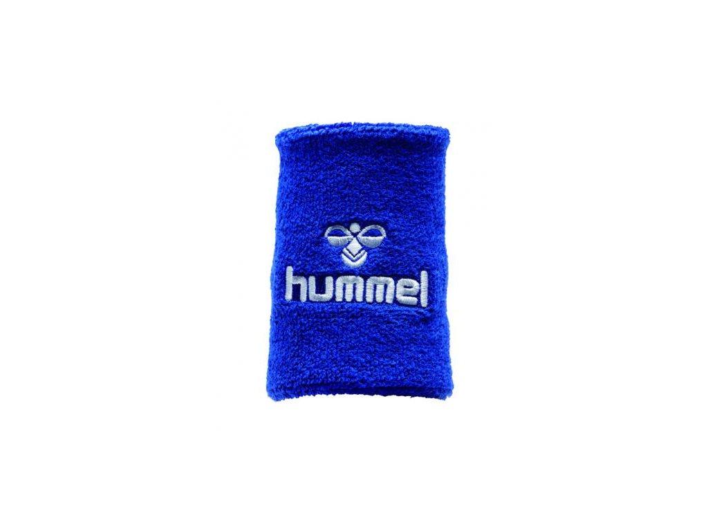 Hummel potítko Old School velké - modrá/bílá