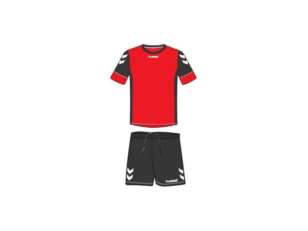 Hummel dres Spirit SMU tréninkový set - červená/černá