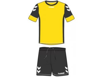 Hummel dres Spirit SMU tréninkový set - žlutá/černá