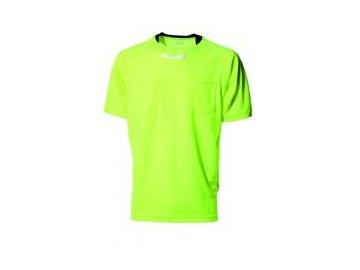 Hummel klasický dres pro rozhodčí - neon zelená/černá