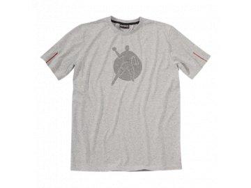 Kempa tričko Corporate - šedé