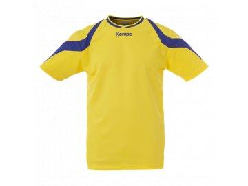 Kempa dres Motion - žlutá/modrá