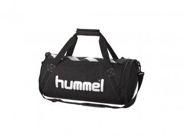 Hummel sportovní taška STAY AUTHENTIC - M, černá