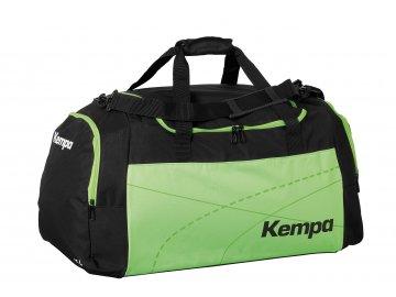 Kempa sportovní taška TEAMLINE - L  černá - světle zelená