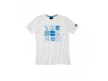 Kempa tričko ICONS - bílé