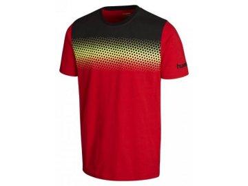 Hummel tričko REBEL GRADIENT - červené