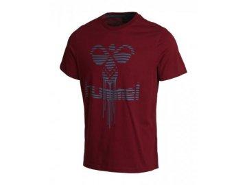 Hummel tričko RUDOLF SS - červené