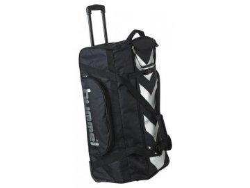 Hummel sportovní taška na kolečkách velká , černá
