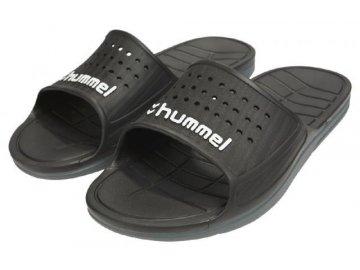 Hummel pantofle - SPORT SANDAL - černé