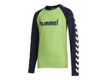 Hummel dětské tričko BOYS - zelené