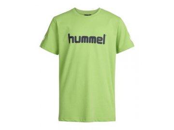 Hummel dětské tričko JAKI - zelené