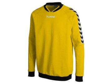 Hummel mikina STAY AUTHENTIC černá nebo žlutá