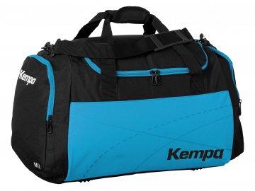 Kempa sportovní taška TEAMLINE - L  černá - světle modrá