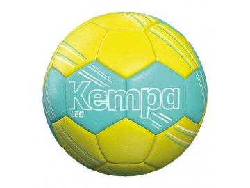 KEMPA házenkářský míč LEO - žlutá - tyrkysově modrá